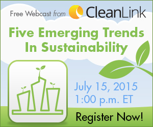 Sustainability Webcast