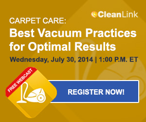 CleanLink Carpet Care Webcast