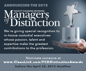 Facility Cleaning Decisions Managers of Distinction